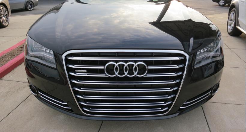 Audi A8L front